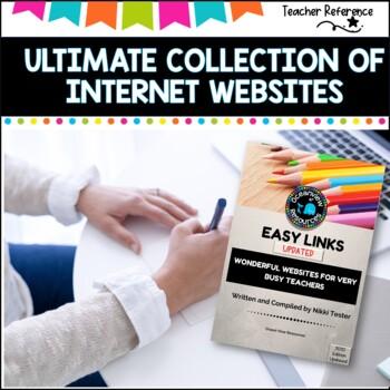 Internet for Teachers- Ideal reference with hundreds of categorised websites