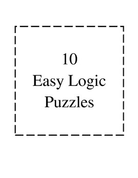 Easy Logic Puzzles