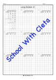 Easy Long Division Worksheets (4 Digit Dividends With 2 As The Divisor)