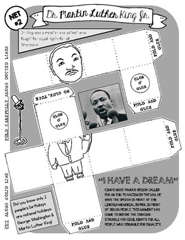 Dr. Martin Luther King / Craft Project