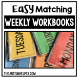 Easy Matching Weekly Workbooks