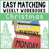 Easy Matching Weekly Workbooks - Christmas Edition