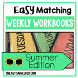 Easy Matching Weekly Workbooks - Summer Edition