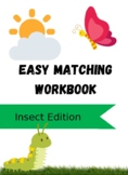 Easy Matching Workbook: Insect Edition