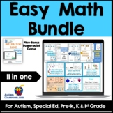 Easy Math Bundle for Digtial Learning or Print (Distance L