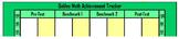 Easy Math Classroom Assessment Tracker - Excel Bar Graph Formulas Pre-Loaded
