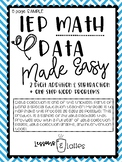 Easy Math Data Collection FREEBIE