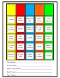 Easy Math Workshop Rotation Chart