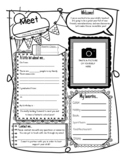 Easy Meet the Teacher Form! Ready to use!!!