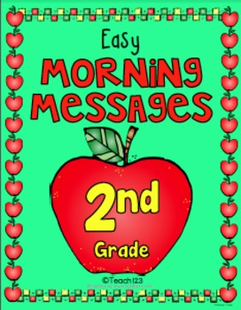 2nd Grade September Morning Messages