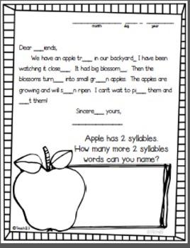 3rd Grade September Morning Messages