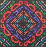 """Easy, No-Fold """"Name Art Mandala"""" Art Project"""