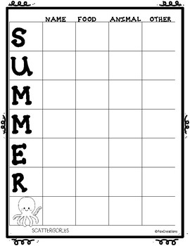 Easy No Stress End of the Year Printables