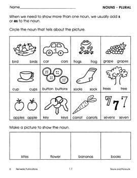 Easy Nouns & Pronouns: Beginning Language Skills