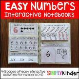 Easy Numbers Interactive Notebook