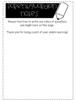 Easy Open House / Back to School Night Forms!