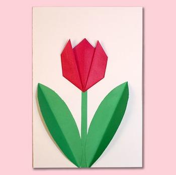 Easy origami flowers by animaplates teachers pay teachers easy origami flowers mightylinksfo