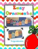 Easy Ornament Holiday Craftivity
