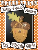 Easy-Peasy Acorn Craft