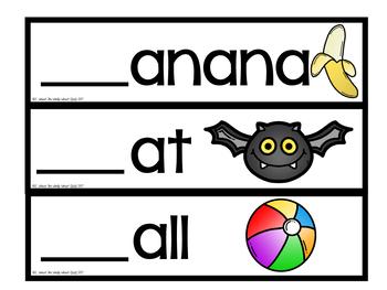 Easy Peasy Alphabet Cards