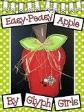 Easy-Peasy Apple Craft