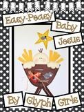 Easy-Peasy Baby Jesus Craft