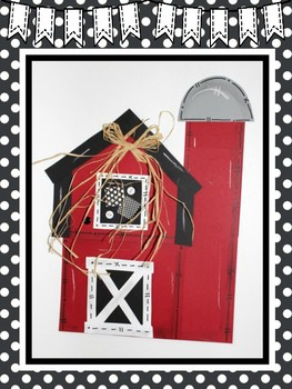 Easy-Peasy Barn Craft