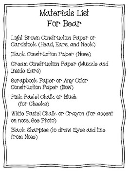 Easy-Peasy Bear Craft