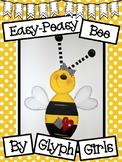 Easy-Peasy Bee Craft