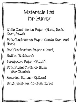 Easy-Peasy Bunny Craft