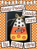 Easy-Peasy Candy Corn Craft