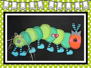 Easy-Peasy Caterpillar Craft