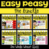 Easy Peasy Phonics Centers Bundle