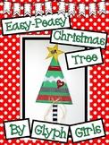 Easy-Peasy Christmas Tree Craft
