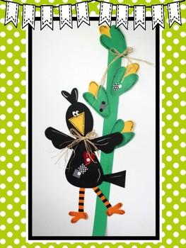 Easy-Peasy Crow Craft
