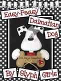 Easy-Peasy Dalmatian Dog (101 Days of School)