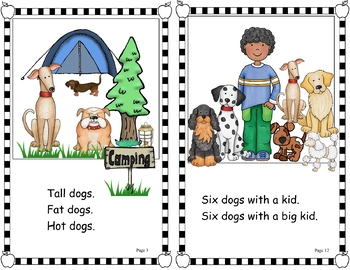 Easy Peasy Decodable Reader - Dogs, Dogs, Dogs! (OG)