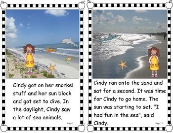 Easy Peasy Decodable Reader -  Under the Sea (Vowel Teams, Soft C & G) (OG)