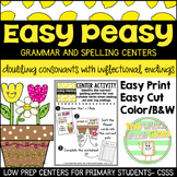 Easy Peasy-Doubling Consonants Center