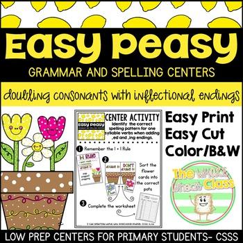 Easy Peasy-Doubling Consonants Center