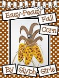 Easy-Peasy Fall Corn Craft