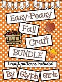 Easy-Peasy Fall Craft BUNDLE