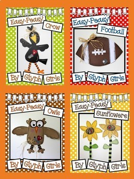 Easy-Peasy Fall Craft BUNDLE