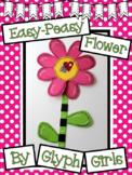 Easy-Peasy Flower Craft