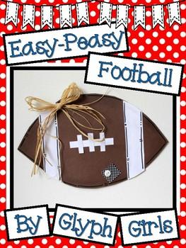 Easy-Peasy Football Craft