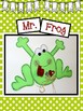 Easy-Peasy Frog Craft