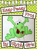 Easy-Peasy Frog Craft