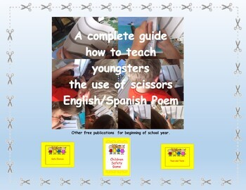 Dual Language Easy Peasy Fun and Basic Back to School Unit for Youngsters