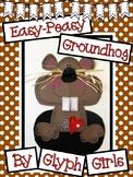Easy-Peasy Groundhog Craft