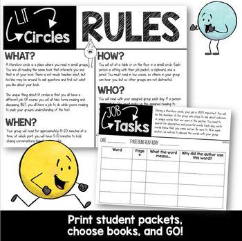 Easy Peasy Lit Circles: Literature Circles for grades 3-4